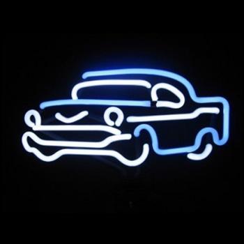 Classic Car Neon Sculpture