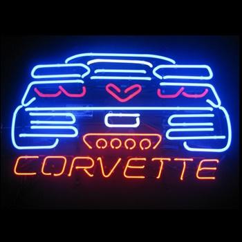 C7 Corvette Neon Bar Sign