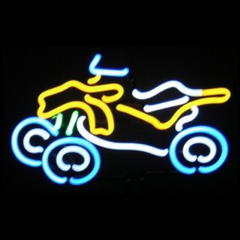 ATV Neon Sculpture
