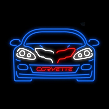 C6 Corvette Neon Bar Sign