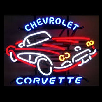 Chevy Corvette Neon Bar Sign