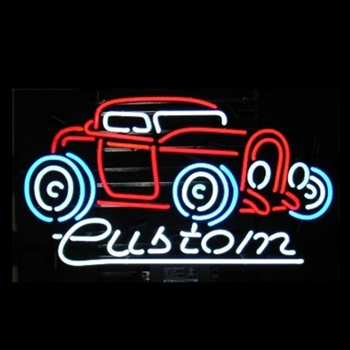 Custom Hot Rod Neon Bar Sign
