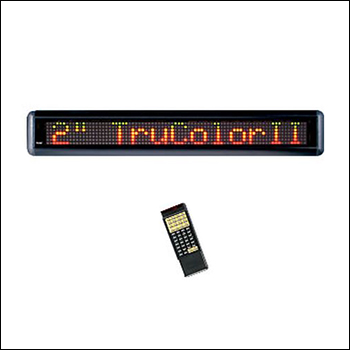 TruColorII LED Single Line Message and Entertainment Display
