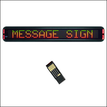 """TruColorXP LED Single Line Message and Entertainment Display - 2""""H x Multiple Lengths"""