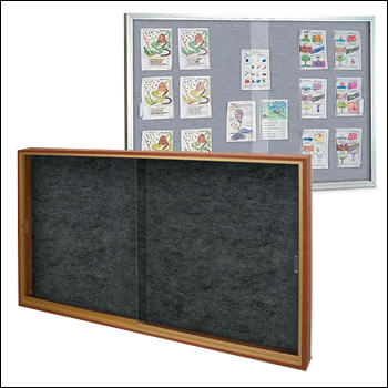 Large Sliding Glass Door EZ TACK Boards with Locks - Wood or Aluminum Framing