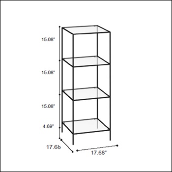 Triple Tower 113 Pedestal Display - Multiple Finish Options