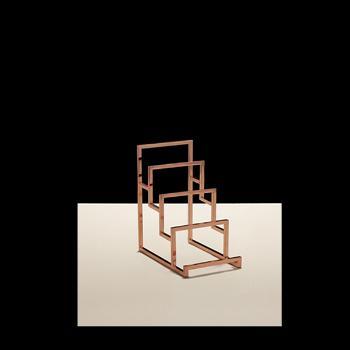 Clutch/Small Handbag Display - Polish Copper