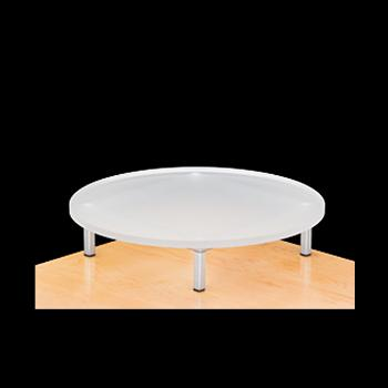 Round Acrylic Top Riser