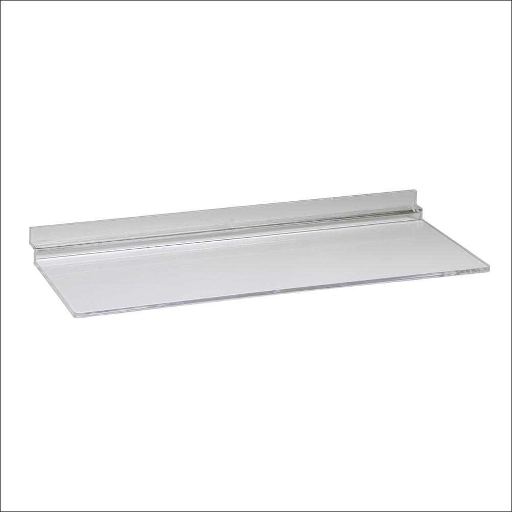 Slatwall Injection Molded Acrylic Shoe Shelf