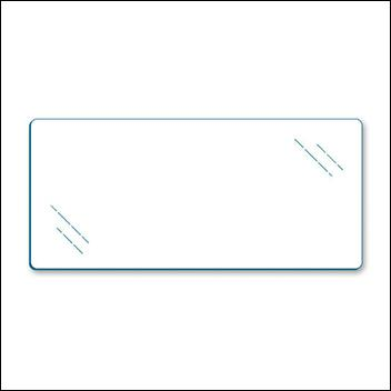 Clear Annealed Glass 3/8