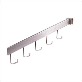 Rectangular Tubing Saddlemount - 5 Hook Rectangular Waterfall Horizontal Mount for 1/2