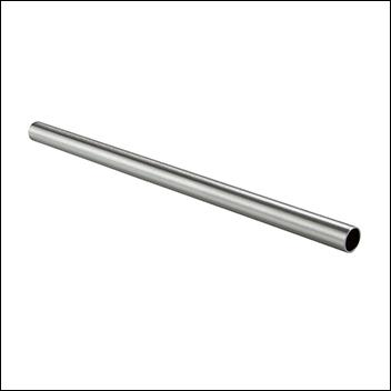 "Chrome Round Hangbar 1 1/4"" Diameter"