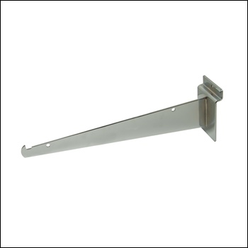 "10"" Knife Shelf Slatwall Bracket - Multiple Finish Options"