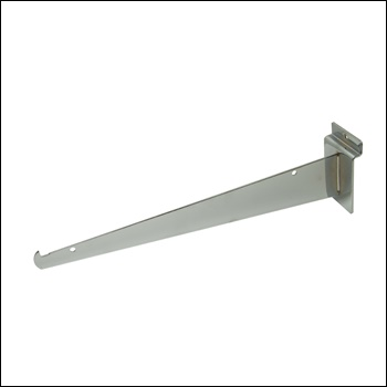 "12"" Knife Shelf Slatwall Bracket -  Multiple Finish Options"
