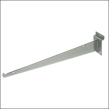 "14"" Knife Shelf Slatwall Bracket - Multiple Finish Options"