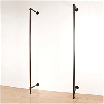 Pipe Wall Mounted Outrigger - Set of 2