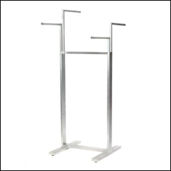 Adjustable 4-way Rack - Satin Chrome