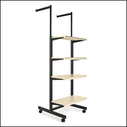 Combo Rack Frame K400 with 4 Shelves