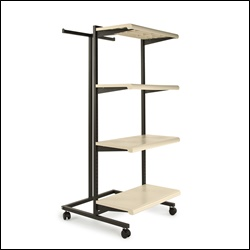 Combo Rack Frame K410 with 4 Shelves