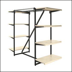 Combo Rack Frame K411 with 8 Shelves