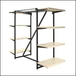 Combo Rack Frame K411 with 8 Shelves
