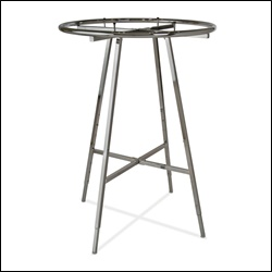 "36"" dia Round Folding Rack - Chrome"