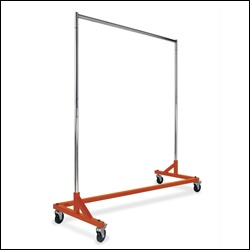 Economy Z-Rack with Orange Base - Square Tubing