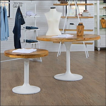Eco Friendly Round Mango Wood Top Table