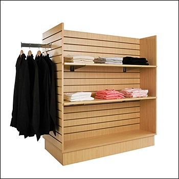 Economy Slatwall H Unit - Multiple Finish Options