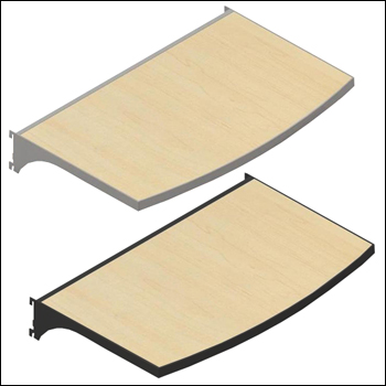 VersaRack Shelves with Multiple Finish Options - Pack of 2