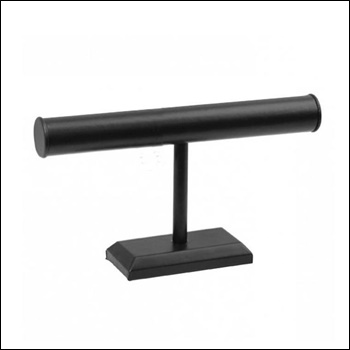Black Leatherette T-Bar (Long)