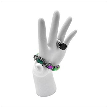 Poly-resin Hand Medium (White)