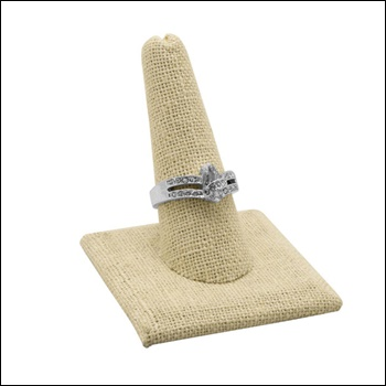 Linen Single Ring Display