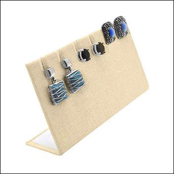Linen Earring / Pendant Stand