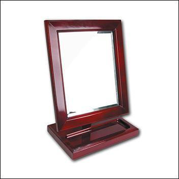 Rosewood Countertop Mirror