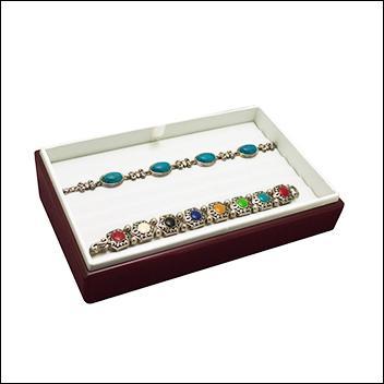 Rosewood Bracelet Tray 8 Slot