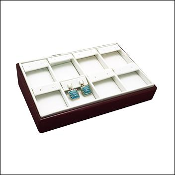 Rosewood Earring Display Tray