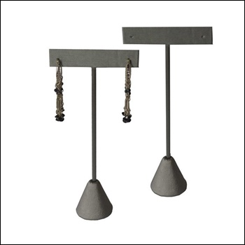 Steel Grey Earring T Stand (Med)