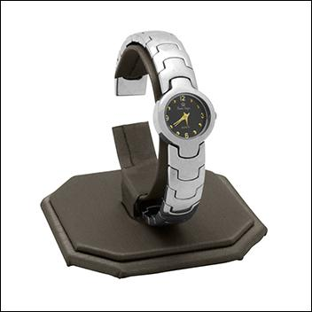 Steel Grey Watch Display Stand