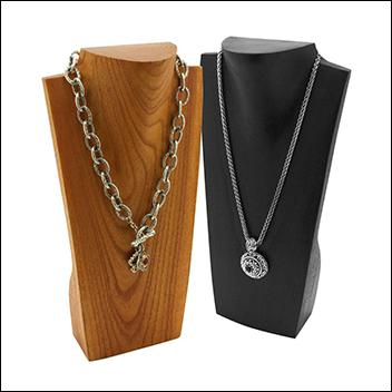 "12"" Necklace Display with Neck"
