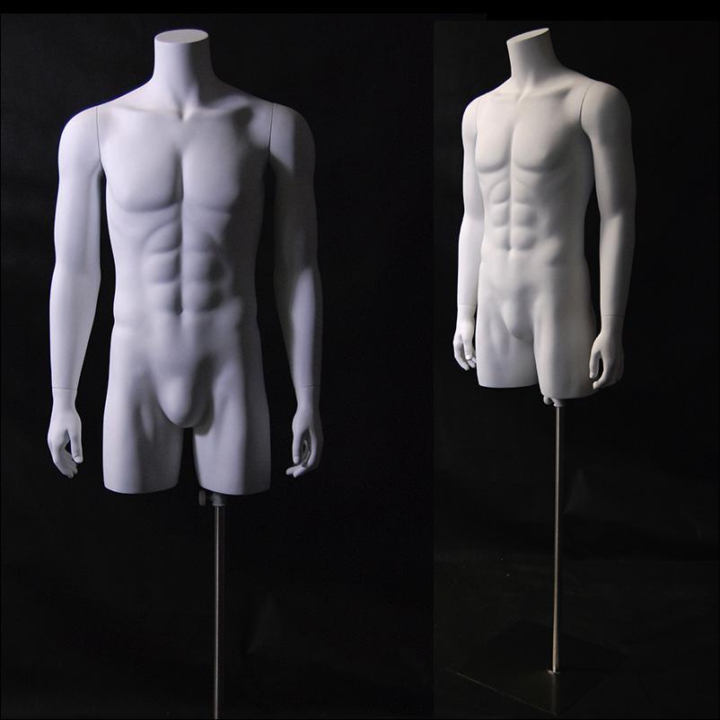 Male Mannequin Torso White