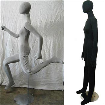 Female Soft Body Bendable Mannequin - Multi-Color Options