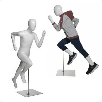 Children Retail Mannequin Series -  Running Pose