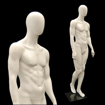 Casual Egg Head Male Mannequin