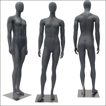 Fit Gal - Athletic Female Mannequin in Relaxed Standing Pose