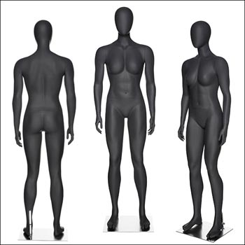 Fit Gal - Athletic Female Mannequin in Straight Standing Pose