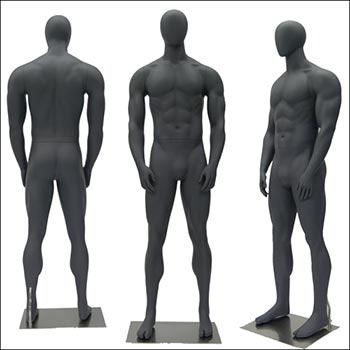 Fit Guy - Athletic Male Mannequin in Straight Standing Pose