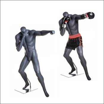 MMA or Boxing Mannequin with a Jab Punch Pose