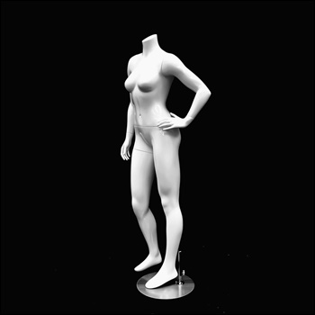 Headless Female Petite Mannequin, standing Pose