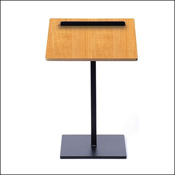 Black Texture Shoe Stand - 10
